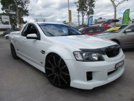 2009 Holden Ute VE MY09.5 SS V White Auto Sports Mode Utility