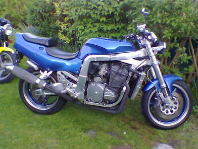 1997 reg 1992 Suzuki GSXR600 customised, UK registered