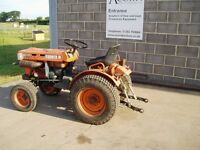 Used Kubota B5100 compact tractor
