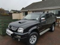 2005, Mitsubishi L200 4X4 WARRIOR TD Double Cab *Relisted Due To Timewaster*