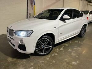 2015 BMW X4 F26 xDrive35i Coupe Steptronic White 8 Speed Automatic Wagon South Melbourne Port Phillip Preview