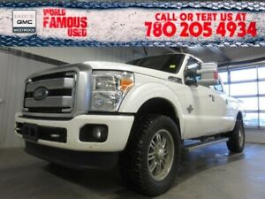 2013 Ford Super Duty F-350 SRW Platinum. Text 780-205-4934 for m