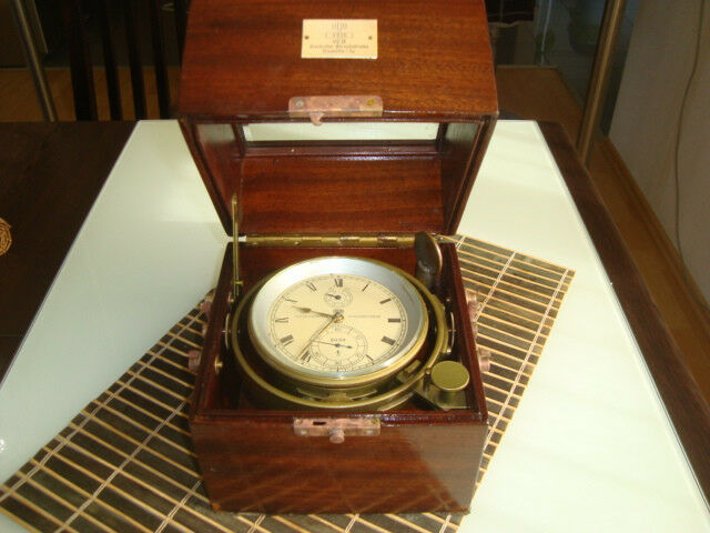 GLASHUTTE Sa  GUB Germany marine chronometer