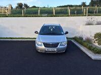 7 Seater Chrysler Voyager One Lady Owner, Full Years MOT