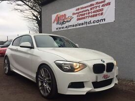 BMW 1 SERIES 1.6 114D SE 3d 94 BHP (white) 2013