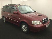 2006 KIA Sedona 2.9 CRDi Automatic Diesel 7 Seats auto not honda citroen vauxhall w seat ford mazda