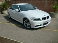 BMW 320 M Sport 2.0 Diesel Automatic 4 Door Saloon White 2010