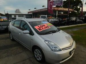 2008 Toyota Prius NHW20R MY06 Upgrade I-Tech Hybrid Silver Continuous Variable Hatchback New Lambton Newcastle Area Preview