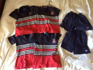St Stephen's Uniforms Shirts 8C  Shorts Sz4 Jandabup Wanneroo Area Preview