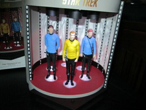"""7 1/2"""" Lights up & Talks Star Trek Tabletop Decor 2019 The Transporter Hallmark"""