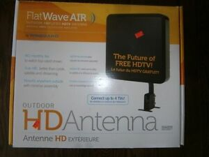 Winegard FlatWave Air Amplified Digital Outdoor HDTV Antenna