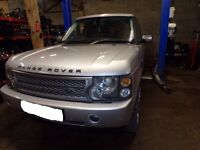 breaking for parts 2004 RANGE ROVER VOGUE V8 AUTO