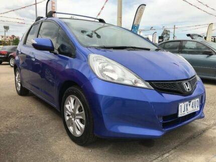 2012 Honda Jazz GE MY12 GLi Blue 5 Speed Manual Hatchback Maidstone Maribyrnong Area Preview