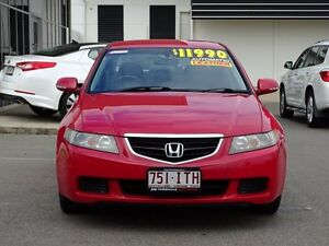 2005 Honda Accord Euro CL Red 5 Speed Automatic Sedan Garbutt Townsville City Preview