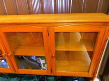 Solid timber display upper cabinet Strathfield South Strathfield Area Preview
