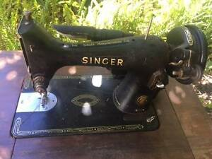 Antique singer sewing machine Upwey Yarra Ranges Preview