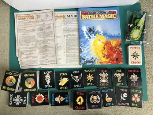 Games Workshop Warhammer Battle Magic 1992 4th Ed Games Complete - NO BOX