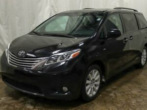 2016 Toyota Sienna XLE 7 Passenger All-wheel Drive w/ Leather, N