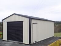 STEEL SECTIONAL SHEDS *SURPLACE STOCK*