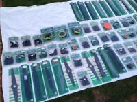 Over 75 BRAND NEW Lawnmower Blades That Fit Bosch Flymo Etc - Was £750 Now Only £90