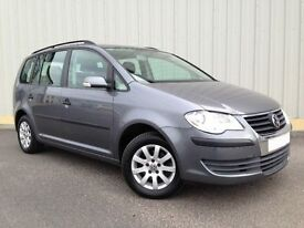 VW Touran 1.6 S, 7 SEATER, Only 1 Previous Keeper, Superb Condition, Complete with Service History