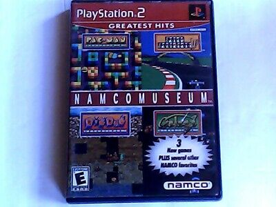 Pac Man Fever, Pac Man World 2, Namco Museum (Sony PlayStation 2) Games Lot