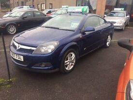 VAUXHALL ASTRA 1.8 TWIN TOP SPORT 3d 140 BHP (blue) 2007