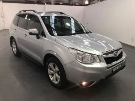 2015 Subaru Forester S4 MY15 2.0D-L CVT AWD Silver Automatic Selespeed Wagon Fyshwick South Canberra Preview