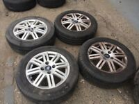 """SET OF FORD FOCUS WHEELS & TYRES 15"""""""