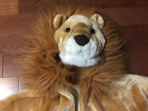 Lion Costume Size 3-5