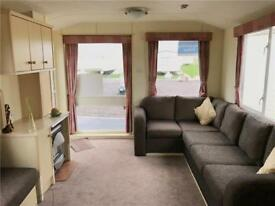 Cheap 8 berth static caravan on the Ayrshire coast at Sandylands