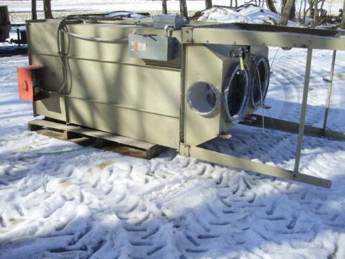Murphy-Rodgers MRO-306 Bag House Dust Collector, MRC-9B5 5hp Fan & Cyclone