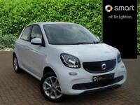 smart forfour PASSION (white) 2017-09-05