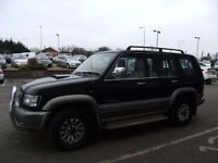 2003 52 ISUZU TROOPER 3.0 LWB DT 5D 157 BHP **** PART EX WELCOME ****
