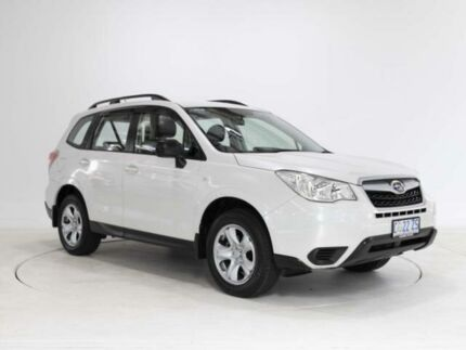 2013 Subaru Forester MY13 2.5I White Continuous Variable Wagon Cooee Burnie Area Preview