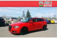2007 Audi A3 ***S-Tronic 6-Speed Auto, Moonroof, Leather***