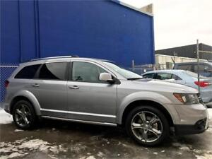 2017 Dodge Journey Crossroad AWD | Rmt Start | Leather