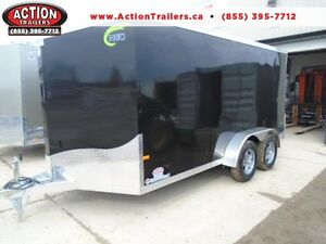 This unit won't last long! Neo Aluminum 7X14 with Ramp Door