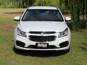 2015 Holden Cruze JH Series II MY15 Equipe White 6 Speed Sports Automatic Sedan Littlehampton Mount Barker Area Preview