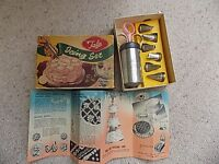 Complete Vintage Tala Icing Set Boxed with Instructions