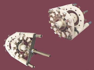 High Voltage Ceramic 2 Wafermakebreak Rotary Switch