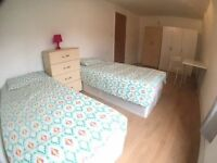 Beautiful Double room with 3 wardrobes with balcony, ALL BILLS ARE INCLUDED