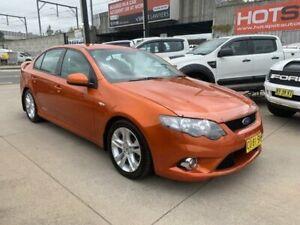 2011 Ford Falcon FG XR6 Orange 6 Speed Sports Automatic Sedan Granville Parramatta Area Preview