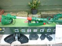 New Qualcast 18v Cordless grass Trimmer