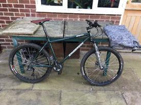 "Sanderson Breath 18"" Mountain Bike Cr-Mo Frame {Green} Used Condition"