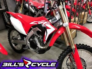 2018 HONDA Competition CRF 450 RJ   Electric Start FI Red