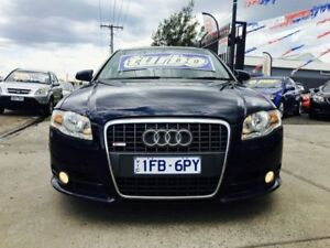 2006 Audi A4 B7 MY06 Upgrade 2.0 TFSI Quattro 6 Speed Tiptronic Sedan
