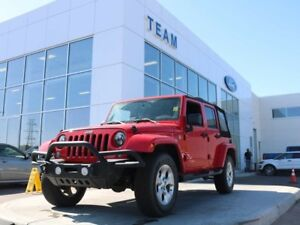 2015 Jeep Wrangler Unlimited SAHARA, ACCIDENT FREE, HEATED FRONT
