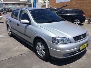 2002 Holden Astra TS CD Silver 4 Speed Automatic Sedan Boolaroo Lake Macquarie Area Preview