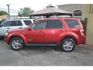 2008 Ford Escape Limited 4WD - Sunroof - Leather